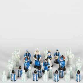 Herend Chess Set - 30 Piece