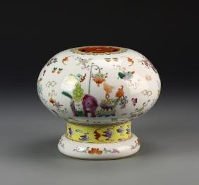Chinese Famille Rose Censer