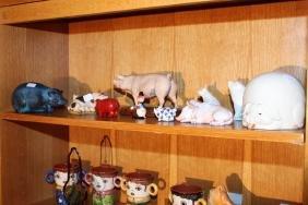Ten Pieces Of Pig Figures