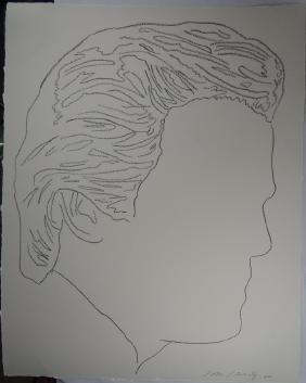 Andy Warhol (american,1928-1987) Drawing