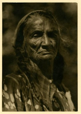 India Pictorialist, Gypsy Portrait, 1934