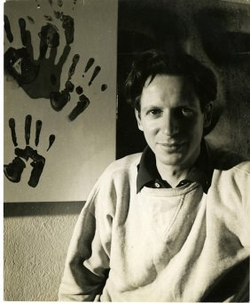 Herbert Matter, Self Portrait, Ca. 1937.