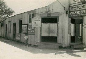 Rudy Burkhardt, Rural Bar 1940's. California?