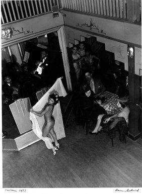 "Aaron Siskind, ""harlem Stripper:, 1937, Printed Later"