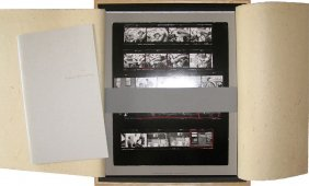 "Robert Frank, Magnificent Contact Sheet ""the Americans"""