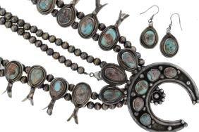 Sterling Silver Genuine Bisbee Turquoise Masterpiece