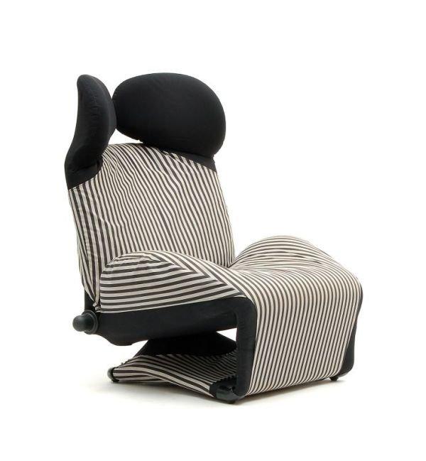 1035 armchair wink toshiyuki kita for cassina 1980. Black Bedroom Furniture Sets. Home Design Ideas
