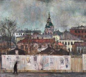 Konrad Knebel, Plakatwand In Russland. 1971.