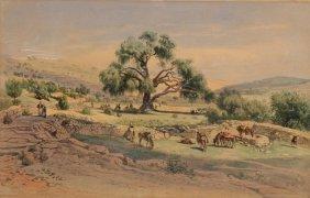 "Carl Friedrich Heinrich Werner ""Abrahams Tree Near"