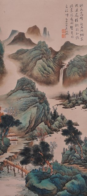 A Chinese Painting (attributed To Wu Hufan)