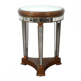 *po*beveled Couture Table