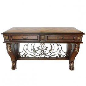 Barcaleona Iron Console Table