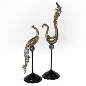 Pr - Peacock Sculptures