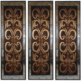 Horchata Wall Panel Set Of 3