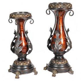 Marblous Candleholder Set Of 2 Free Shipping