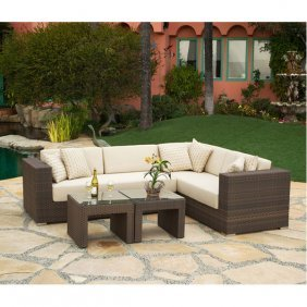Panorama 4pc Woven Outdoor Lvg Free Shipping