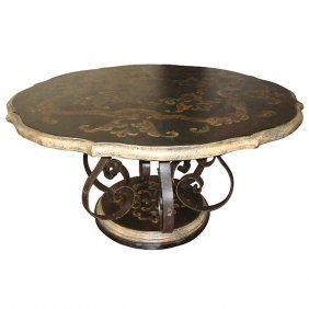 Peruvian Scroll Dining Table Free Shipping