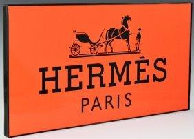 Hermes Display Sign