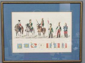 French Militaria Print