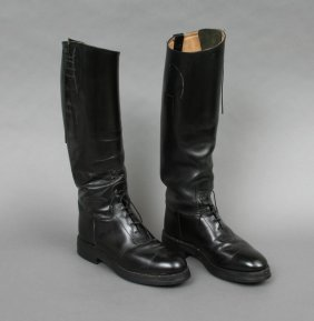 Pair Of Gentlemans Riding Boots 8 1/2
