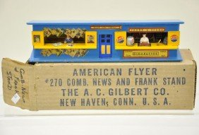 Boxed American Flyer 270 Frank And News Stand