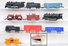 Boxed Marx Train Sets 4225 & 4341MO
