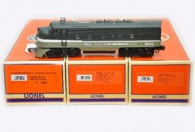 Lionel 18145 NP F3 ABA Diesels