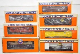 Boxed Lionel Erie Freight Cars