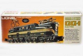Boxed Lionel MPC 8150 PRR GG1