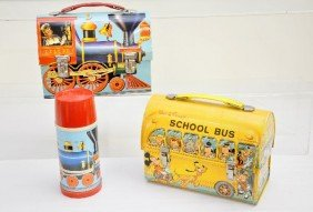 Dome Lunch Box Lot