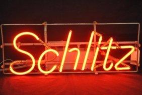 Vintage Schlitz Beer Neon Sign