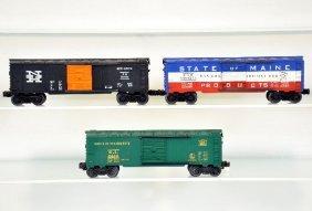 3 Lionel 6464 Boxcars