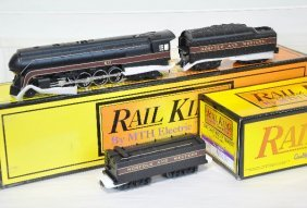 MTH Rail King 1105 N&W J With Auxiliary Tender