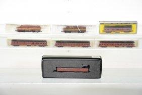 Boxed N Gauge Prr Train Lot
