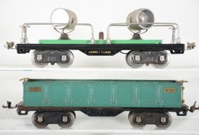 Lionel 520 & 512 Freight Cars