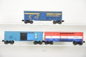 Late Lionel 6464 Style Boxcars