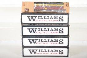 4 Williams Strasburg Railway Heavyweights