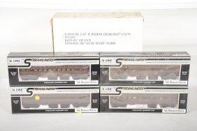 K-line Modemism Prr Streamliner Cars