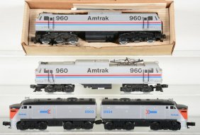 Lionel Williams Amtrak Locomotives