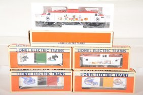 Lionel Disney Train Set