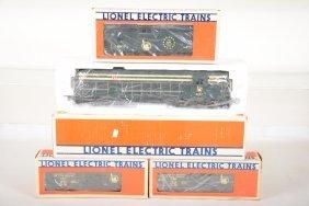 Lionel Jersey Central Diesel Freight Set