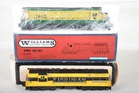 Williams Virginia & Reading Diesels