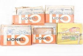 Lionel Ho Partial Boxed Sets