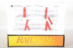 Mth Railking 30-2144-0 B&o Budd Car Set