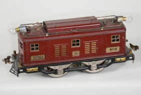 Early Lionel 8 Boxcab Electric