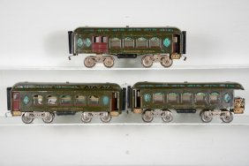 Early Lionel Passenger Cars