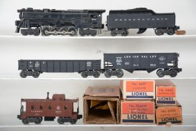 Boxed Lionel 671 Steam Freight Set