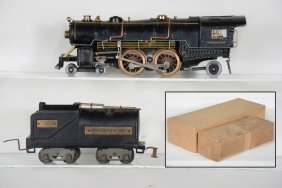 Clean American Flyer 4696, 4695 Steam Locomotive