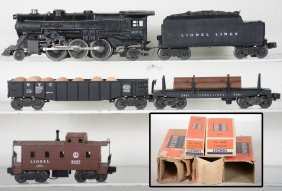Boxed Lionel 2025 Steam Freight Set