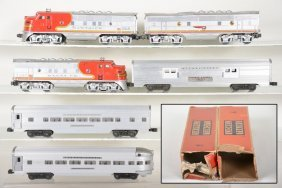Lionel Sf Passenger Set